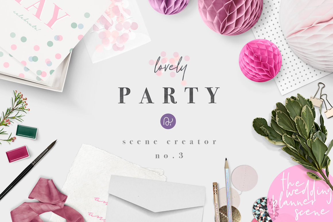 wedding planner stationery scene creator