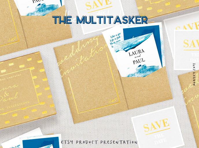 Etsy shop product presentation - the multitasker - made with scene creator mockup