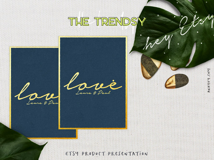 Etsy shop product presentation - the trendsy - made with scene creator mockup