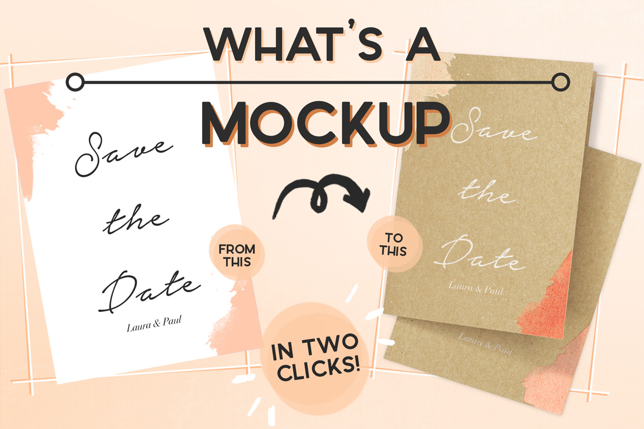 What is a mockup and how can you use it for your design templates and layouts to become real?