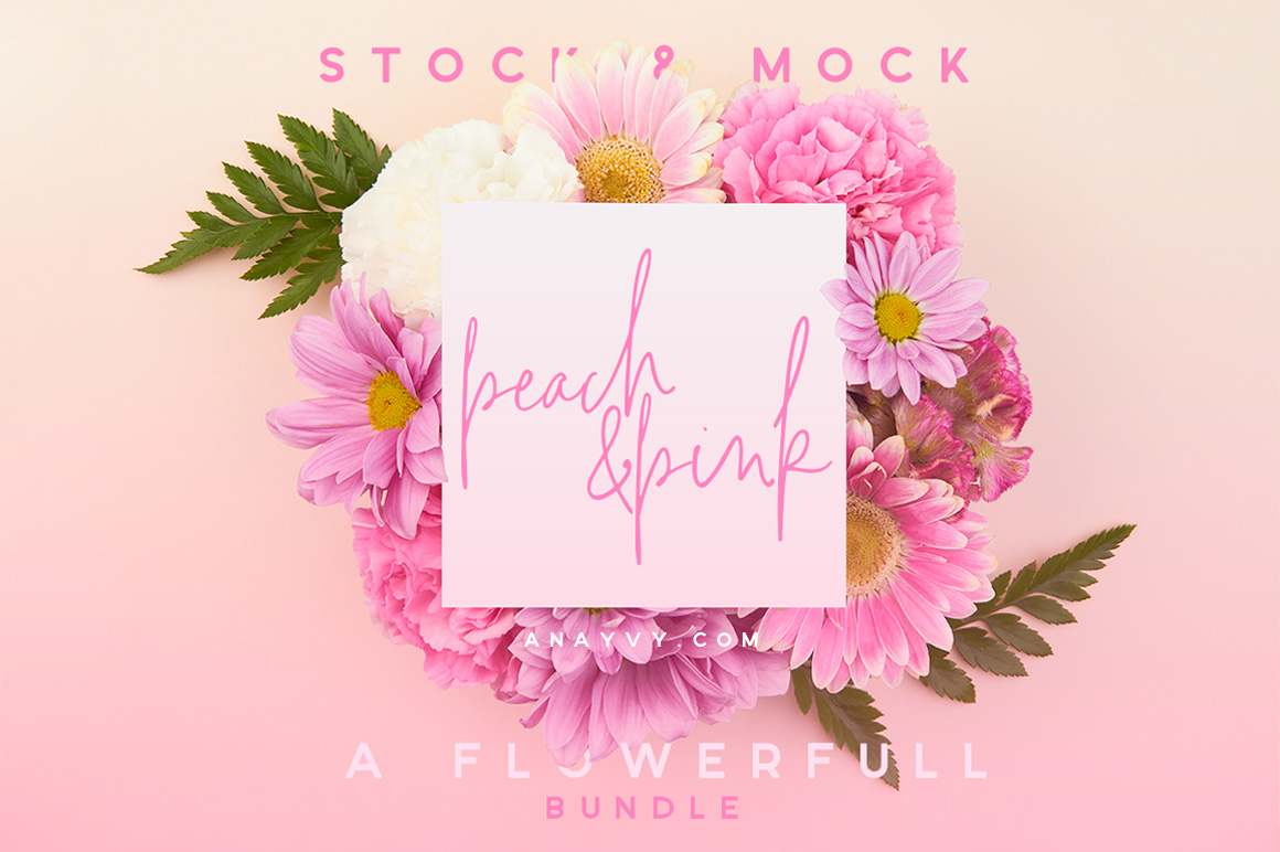01-etsy-pink-peach-flower-flatlay-mockup-stock-images-mockup-overhead-photography-ana-yvy