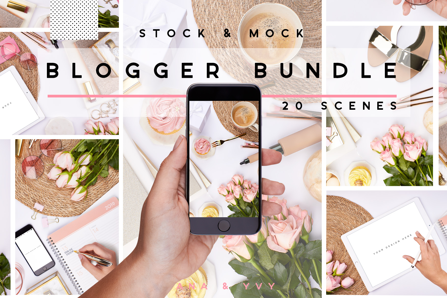 02-pink-blogger-summer-stock-images-bundle-sunglas-mockup-ipad-iphone-hand-planner