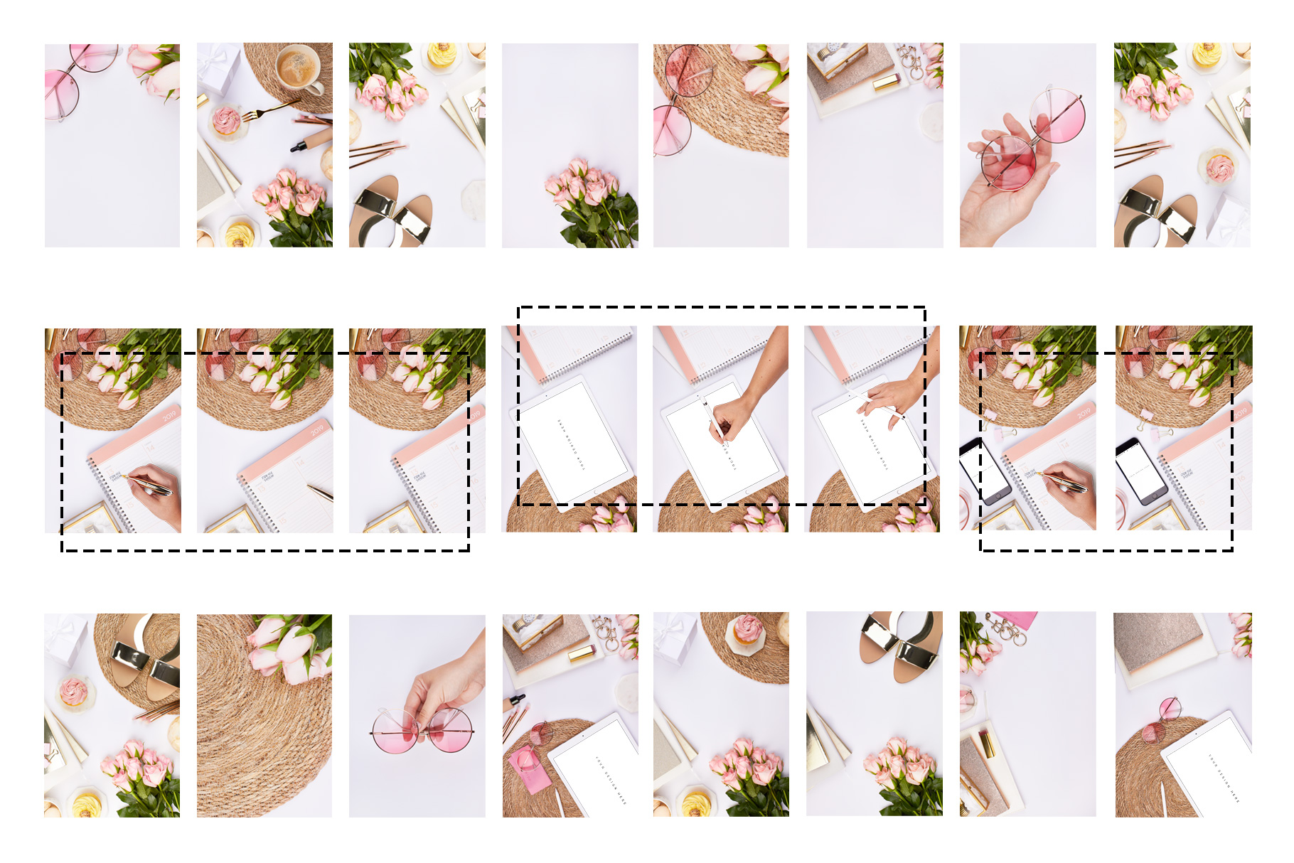 08-pink-blogger-summer-stock-images-bundle-sunglas-mockup-ipad-iphone-hand-planner