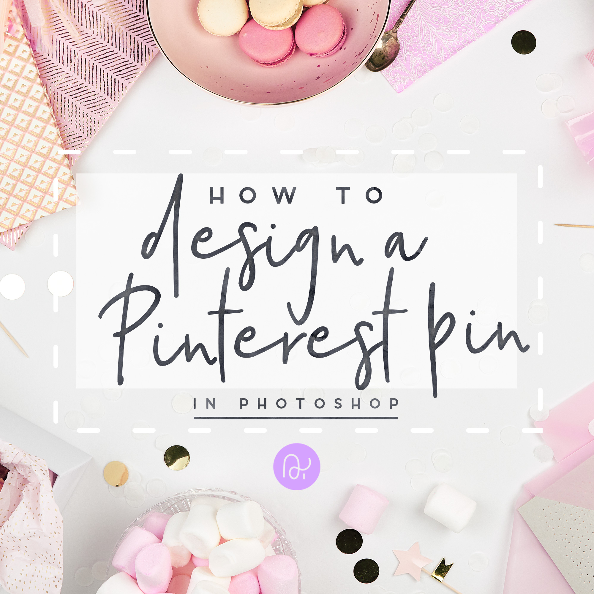 how to design create pinterest pin in photoshop tutorial stock images instagram ana yvy
