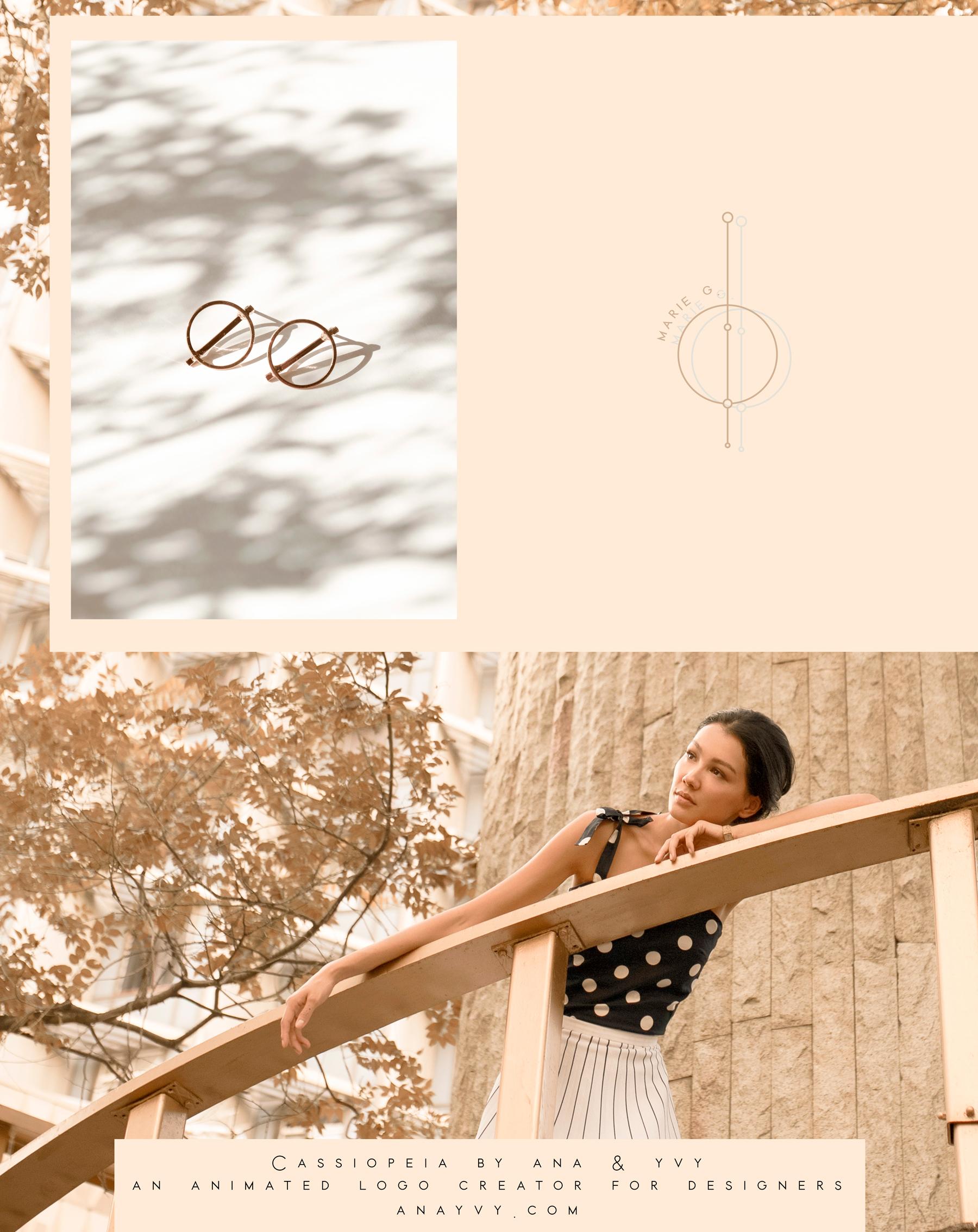 Cassiopeia-logo-design-animation-anayvy-motion-vintage-hand-greenery-apothecary-jewlery-2