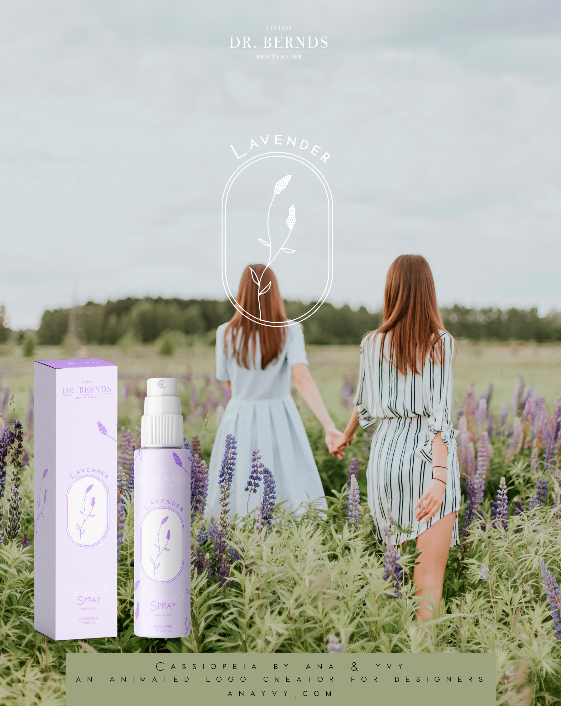 Cassiopeia-logo-design-animation-anayvy-motion-vintage-hand-greenery-apothecary-lavender-Sleepwell-2