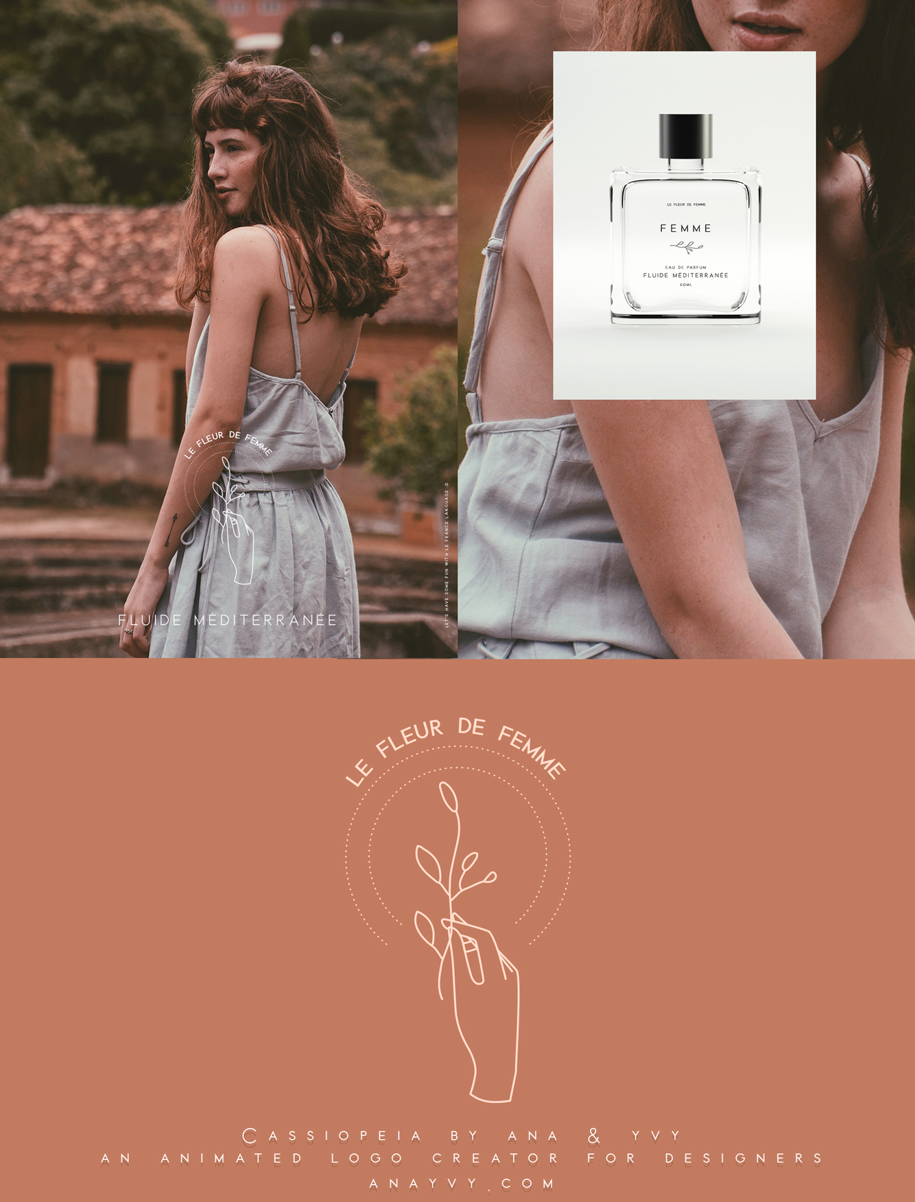 Cassiopeia-logo-design-animation-anayvy-motion-vintage-hand-greenery-apothecary-parfum-2